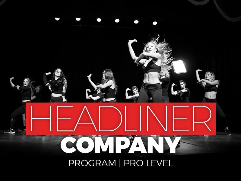 Train for a career as a singer and dancer with the SHOW Co's headliner company.